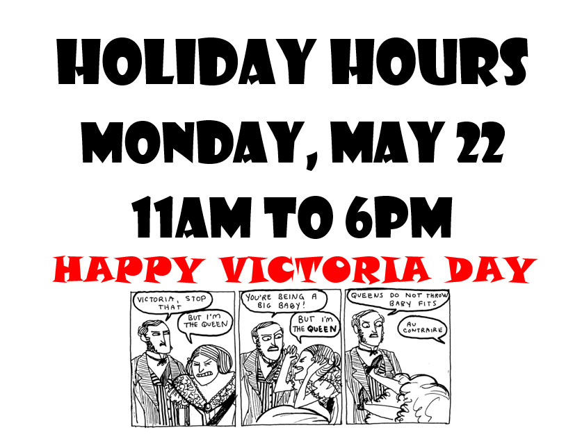 HOLIDAY HOURS VIC DAY